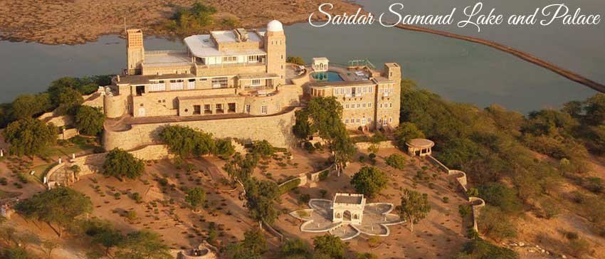 sardar samand lake and palace