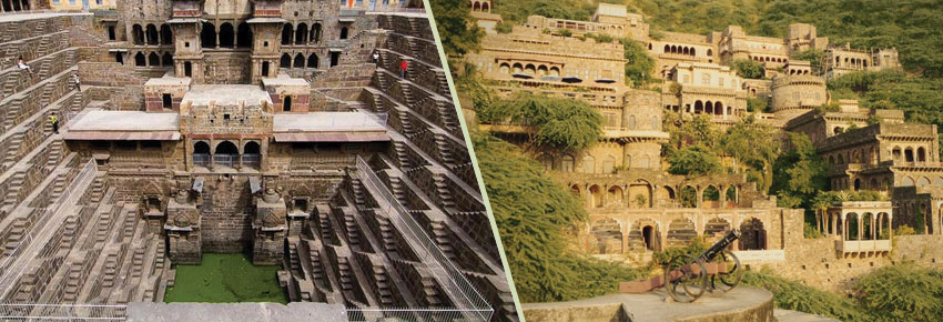 Jaipur Bhangarh Abhaneri Sightseeing Tour Packages