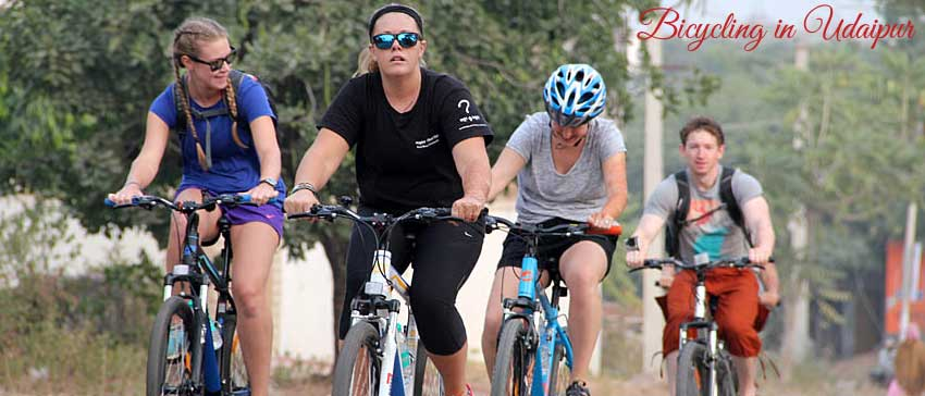 cycling in udaipur