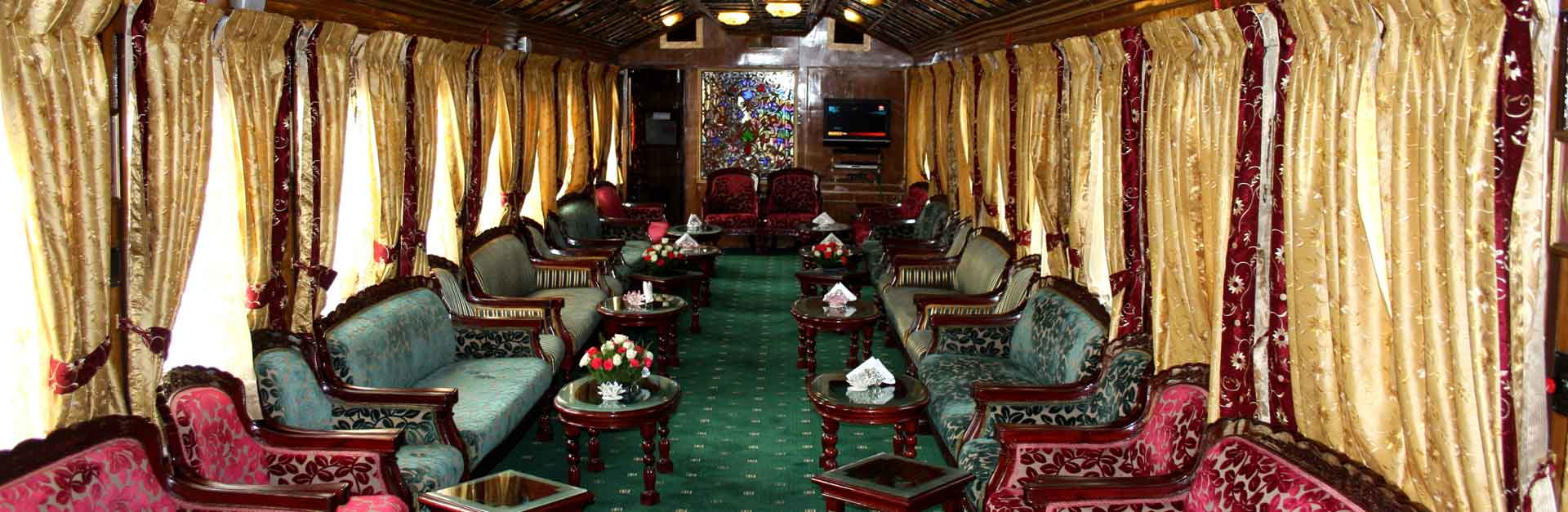 palace on wheels fare